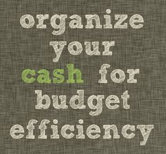 Using a cash system as a means of maintaining your monthly budget can be overwhelmingly effective. Let's look at a GREAT resource for managing cash and some fabulous organizers to keep it all in order.