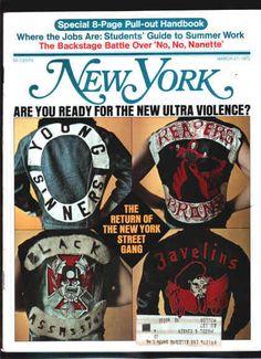 nyc street gangs