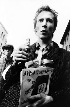 John Lydon shortly after the Sex Pistols breakup, photo Michael Jang, San Francisco, 1978 via: Iconic Photos from San Francisco's 70s Punk Scene