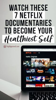 netflix movies TV binges dont typically do much for our health. But binge on these 7 food + health documentaries on Netflix and get inspired to live your healthiest life! Netflix Movies To Watch, Good Movies To Watch, Films On Netflix, Netflix Hacks, Netflix Codes, Health Documentaries, Netflix Documentaries, Fitness Workouts, Fitness Motivation