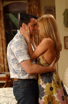 Okay, while Joey and Rachel had their thing, I was really rooting for them...
