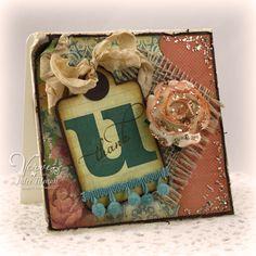 mixed media card...love