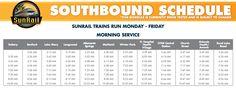 SunRail Schedule