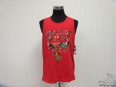 UNK Chicago Bulls Floral Tank Top Shirt sz XL Extra Large NBA DRose Red NWT #UNK #ChicagoBulls #tcpkickz
