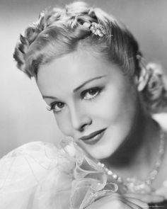 Madeleine Carroll ~ highest paid actress in the world during the 30's.