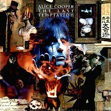 """Alice Cooper: The last Temptation.The full story was given in a 3-part comic book written by Neil Gaiman, the first part of which accompanied the recording. In the comic, the showman (referred to only ever as such) was depicted as Cooper himself. Pages from the comic are seen in the""""Lost in America"""" music video"""