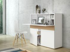 Shop the Focus Armoire Desk Type at Perigold, home to the design world's best furnishings for every style and space. Plus, enjoy free delivery on most items. Home Office Furniture, Furniture Design, Small Home Offices, Contemporary Desk, Deep Shelves, Work Station Desk, Secretary Desks, Bureau Design, Home Living