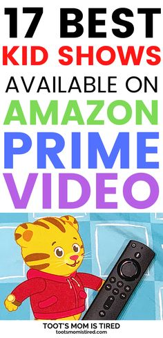 17 Best TV Shows on Prime Video for Toddlers Kids Tv Shows, Best Tv Shows, Toddler Preschool, Preschool Activities, Two Years Old Activities, Everything Preschool, Pbs Kids, Parenting Toddlers, Three Year Olds
