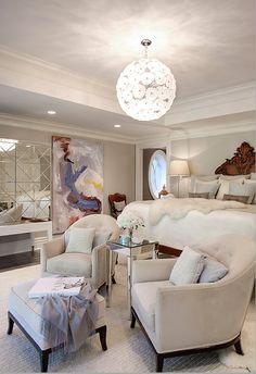 Luxurious sleeping quarters!!