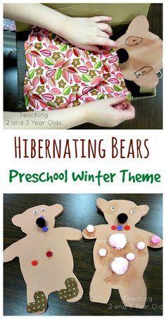 Preschool Winter Theme Sleep Well Bears