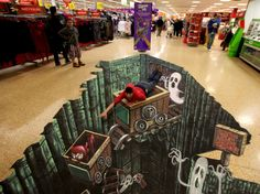 Asda's Halloween 'Spooktacular' - 3D Joe and Max3D Joe and Max