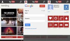 Microsoft y Google, trabajando juntos en la app de YouTube para Windows Phone  http://www.genbeta.com/p/95048