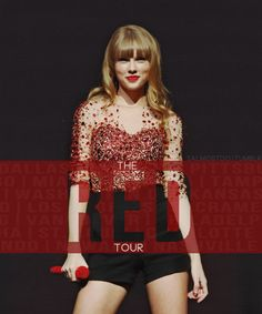 Day 17- favorite tour, the RED tour! I went in Dallas on May 25, 2013!!!