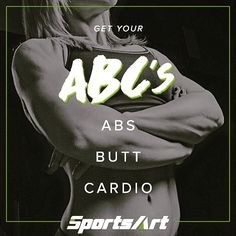 Never forget your ABC's Cardio 🍑🏃