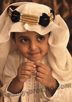 Handsome Omani boy photo