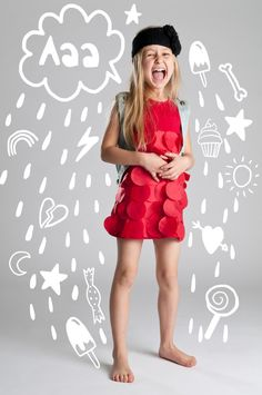 Photo illustration is good because it is set on a basic background which allows the illustration to be successful. Photography Illustration, Photo Illustration, Illustrations, Cloud Illustration, Fashion Kids, Fashion Design, Creative Background, Basic Background, Kids Background