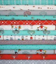 Little Apples  Fabric by Aneela Hoey for Moda Fabrics