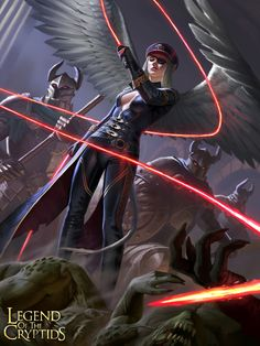 f Legend of the Cryptids by Jason Kang Card Dark Inquisitor Kiriel (Fiendish) Character Concept, Character Art, Concept Art, Fantasy Women, Fantasy Girl, Fantasy Characters, Female Characters, Dnd Elves, Angel Warrior