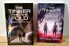 Thanks, Kelly for giving us your thoughts on The Tinker & The Fold series :) Books For Boys, I Love Books, Books To Read, Best Friend Book, Best Friends, Book Nerd, Book 1, Science Fiction Series, Nerd Stuff