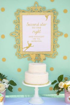 Peter Pan / Tinkerbell Birthday Party Ideas | Photo 1 of 54 | Catch My Party