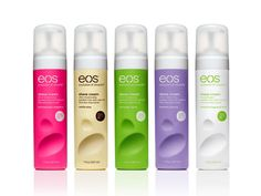 EOS shaving cream $3.50 - This is great for when you need to shave quickly without getting in the shower.  All you need is this... no water necessary!  (Still a fan of Skintimate!)