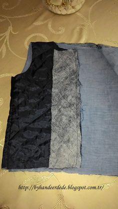 by Hande Erdede: Yelek nasıl dikilir ve astarlanır Sewing Techniques, Crochet, Vest, Model, Pattern, Fashion, Patterns, Tricot, Moda