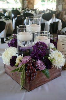 20 idee per un centrotavola floreale di matrimonio! Lasciatevi ispirare…