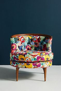 Floral Bixby Chair