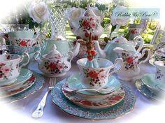 ` Place Settings, Tea Set, Cup And Saucer, Tea Cups, Tableware, Disney Dresses, Tea Party, Pots, Garden