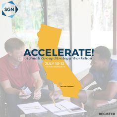 Register you and your team today! This conference is a must if you are starting your small group ministry form the ground, or you need to re-do your current model. Learn from the best and walk away with a plan you can implement as soon as you arrive back to your church. #SGNET #bettertogether