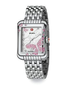 Michele Extreme Butterfly Watch