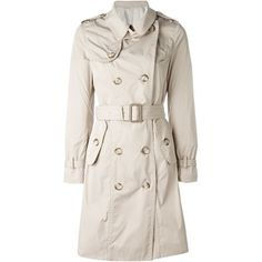 MONCLER Trench Plain Long Trench Coats 2