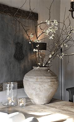 Wabi Sabi, Home Interior Design, Interior And Exterior, Interior Decorating, Zen Decorating, Houses Architecture, Modern Architecture, Appartement Design, Deco Table