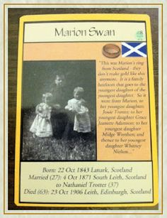 http://catchthewindow.blogspot.com/2011/09/ancestor-cards-how-i-did-it.html  Such a cool idea.