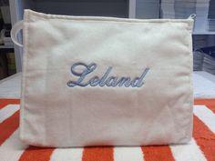 Cosmetic bags!!MONOGRAM!! Monogram Shop, East Hampton, Monogram Styles, Cosmetic Bag, Initials, Reusable Tote Bags, Gifts, Shopping, Presents