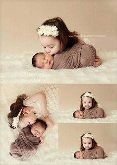 Beautiful Sibling Photography Session by TG Photography By Trisha/Fawn Over Baby photography Newborn Photography Poses, Newborn Poses, Newborn Shoot, Baby Girl Newborn, Children Photography, Photography Ideas, Family Photography, Newborns, Baby Sister Photography