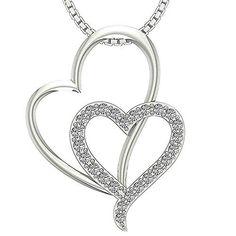 DTJEWELS Mens /& Ladies 1//10 Carat Pink Sapphire Heart Stud Earrings In 14K Black Gold Plated Silver