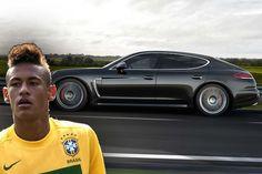 Football Stars and Their Cars:  Neymar - http://www.prestigeandsportsauto.com/football-stars-cars-neymar/