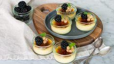 Crème brulée med kardemumma