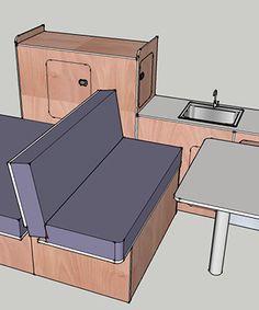1000 images about vhl loisir on pinterest camper van camper conversion and chuck box. Black Bedroom Furniture Sets. Home Design Ideas