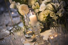 Florals and Candles