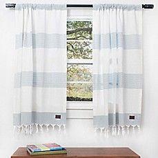 45 inch bath window curtain panel