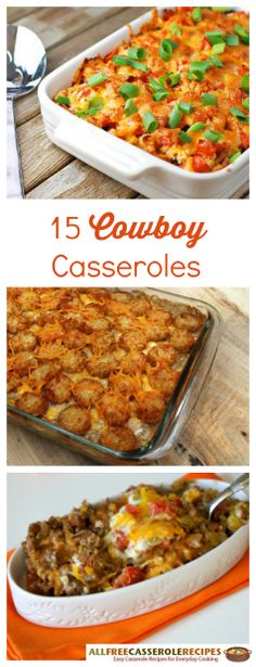 Cowboy casseroles make for the best weeknight dinner recipes! These easy casserole recipes are must-makes.