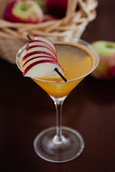 The Apple Orchard Martini