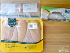 How to: Divide and Freeze Chicken - Buying in bulk and freezing for later helps to save $$$!