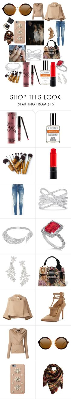 """""""Life and style show www.voiceboxcouture.com"""" by voiceboxcouture ❤ liked on Polyvore featuring Kylie Cosmetics, Demeter Fragrance Library, MAC Cosmetics, Ted Baker, Effy Jewelry, Messika, Allurez, Kate Spade, Miu Miu and Chloé"""