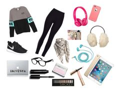 """""""#WouldWearThis"""" by taylorisawesome333 on Polyvore featuring NIKE, Apple, FOSSIL, Uniqlo, Ray-Ban, Bobbi Brown Cosmetics, Forever 21, By Terry and Clinique"""