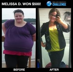 """::02/11/13:: Melissa D. transformed her life with #P90X and #Shakeology! --> """"I was literally eating myself into an early grave. Until I made my New Year's Resolution last year and followed it by starting P90X. I loved that P90X is a routine, sets a schedule so you have something daily to look forward to. It changes daily and it's fun. Also, the meal plan and recipes kept my eating on track."""""""
