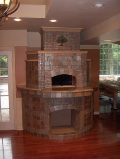 Indoor Wood Fired Pizza Oven Design, Pictures, Remodel, Decor and Ideas - page 44