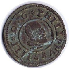 16 Maravedis 1662 Felipe IV Madrid. Cobre.